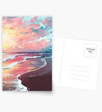 Study of the Sea Postcards