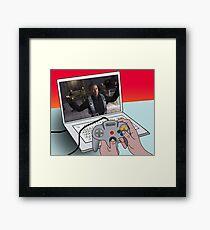 game Framed Print