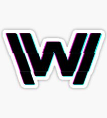 WW Glitch Sticker