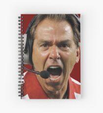 Nick Saban The Hulk Spiral Notebook