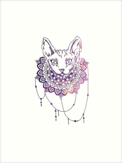 «Sphynx Cat» de CottonCaddy