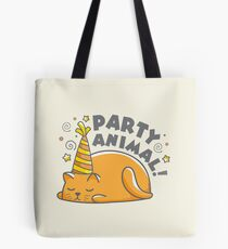 Cat Lover design | Party Animal Tote Bag