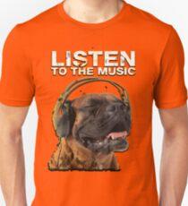 Dog Listen to the Music Unisex T-Shirt