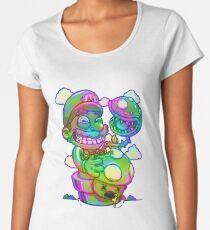 Trippy Mario Women's Premium T-Shirt