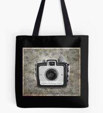 Brownie Holiday Camera - Vintage Black and White Tote Bag