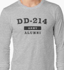 8ea2cc8cd7 DD-214 - Army Alumni - DD 214 Military Veteran Tshirt Long Sleeve T-