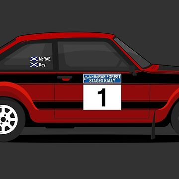 Ford Escort by AutomotiveArt