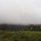 Fog Lies On The Hillls by NancyC