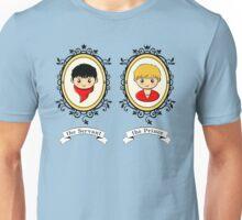 Arthur and Merlin Double Frames Unisex T-Shirt