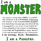 Monster Creed - Green by ArtsAflame