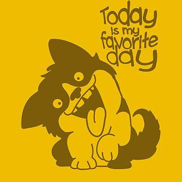 The Optimistic Dog by runningRebel