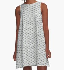 Lonely boat A-Line Dress