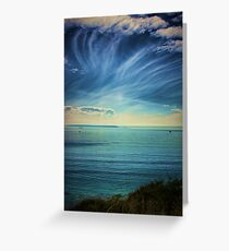 Pacific Skies Greeting Card