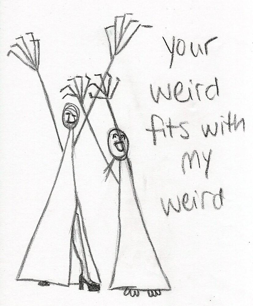 My Weird 1 by emilypageart