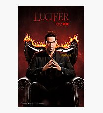 Lucifer Morningstar Photographic Print