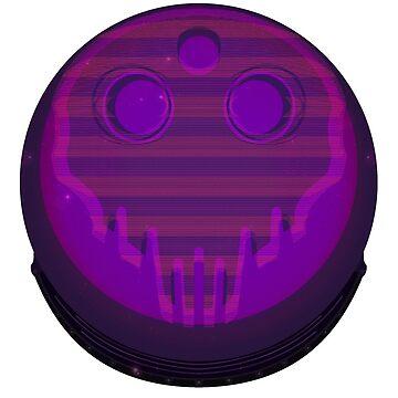 Skull Astronaut by CDJones