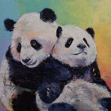 Panda Hugs by michaelcreese