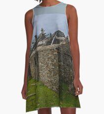Stonework of a ruin A-Line Dress