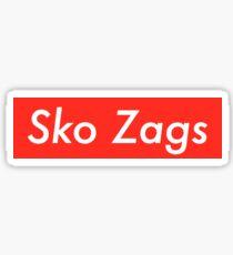 Sko Zags Sticker Sticker