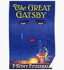 Great Gatsby Book Cover  Poster