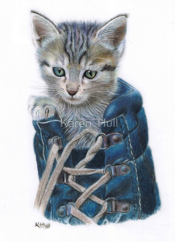 Quot Puss In Boot Quot By Karen Hull Redbubble