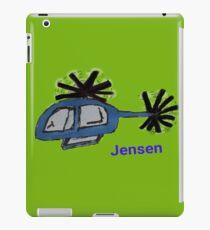 Jensen helicopter  iPad Case/Skin