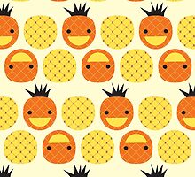 Dotty Pineapples II by littleoddforest