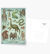 Cryptids Postcards