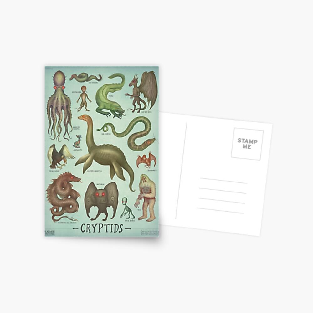Cryptids Postcard