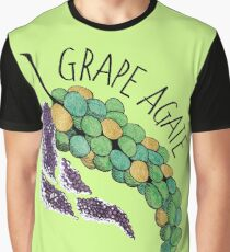 Grape Agate (Crystal Crop) Graphic T-Shirt