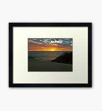 Port Denison Bay, Western Australia Framed Print