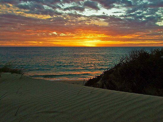 Port Denison Bay, Western Australia by Karen Stackpole