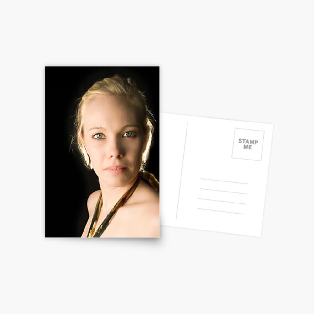 A cropped Brooke. Postcard