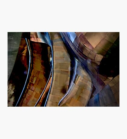 Architectural Abstract, EMC Museum Photographic Print