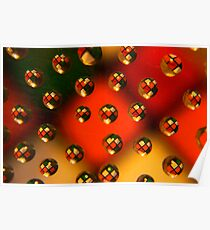 Rubik Refraction Poster