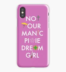 Not Your Manic Pixie Dream Girl - Buffy iPhone Case/Skin