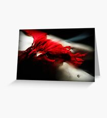 Fleeting flamenco Greeting Card