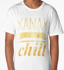 Xanax & Chill Long T-Shirt