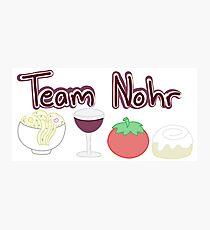 Team Nohr Photographic Print