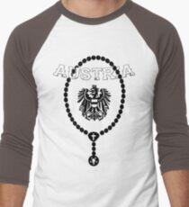 austria Men's Baseball ¾ T-Shirt