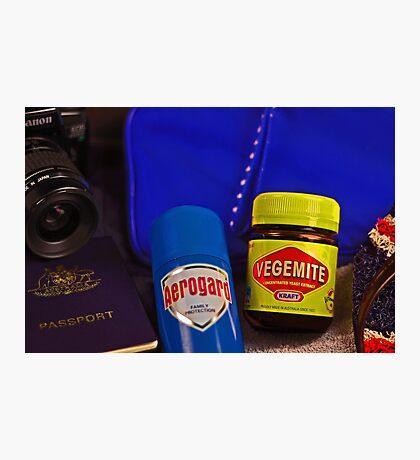Aussie Travel Essentials  Photographic Print