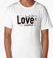 Love in Languages Long T-Shirt