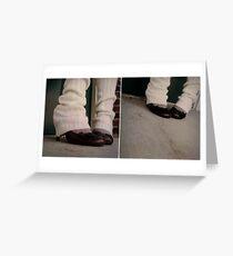 walk a mile in my high heels Greeting Card