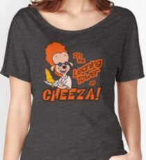 Leaning Tower of Cheeza A Goofy Movie Women's Relaxed Fit T-Shirt