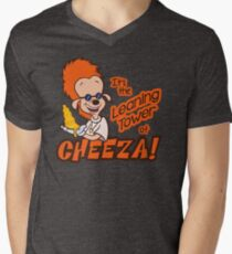 Leaning Tower of Cheeza A Goofy Movie V-Neck T-Shirt