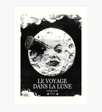 A Trip to the Moon (Le Voyage Dans La Lune)  Art Print