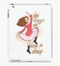 River, Dancing iPad Case/Skin