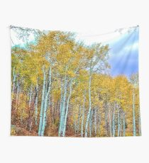 Colorado Aspens by Raven Marie Fashion Wall Tapestry
