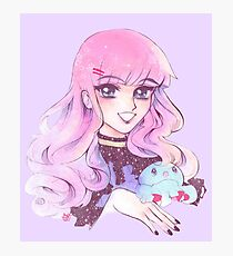 80's Shoujo Kuranosuke Photographic Print