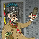 Tony Blair: Number Ten Cartoon Caricature by Grant Wilson